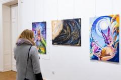 Galeria Foyer - Ja w mieście, miasto we mnie. 18.03.2021 DK 13 Muz. Szczecin. Fot.: Robert Stachnik.