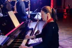 22.04.2021. 13 Muz. Szczecin. Inspektor Jass & Poniedziałek Jazz Fana - Ilona Damięcka & Tomasz Licak Quintet. Fot.: Robert Stachnik.