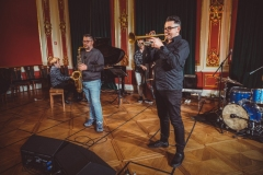 10.05.2021 Inspektor Jass na tropie, czyli jazz z historią w tle: Major czy Minor. Fot.: Hubert Grygielewicz.