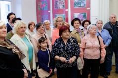 Kwiaty wystawa Stowarzyszenia Uniwersytetu III Wieku, grupa FOTO-Video