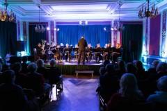 """10.02.2020 Szczecin.  13 Muz. Orkiestra Dęta """"Olimpia"""": Koncert karnawałowy. Fot. Robert Stachnik"""