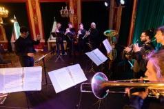 Szczecińska Trzynastka Orkiestra Dęta - próby do premiery