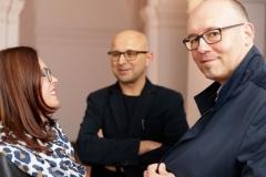 """15.09.2017 Szczecin 13 Muz  Wernisaż wystawy pt. """"Organizacja czasu"""". fot.Robert Stachnik"""