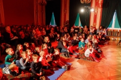 """19.02.2018 Szczecin 13 Muz """"Księżniczka na ziarnku grochu"""". Teatr dla dzieci - Kameleon. Fot.Robert Stachnik"""