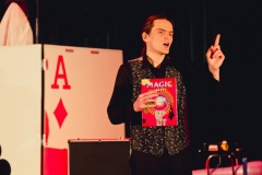 04.03.2018  Szczecin  Magic Show – pokaz iluzji w Domu Kultury 13 Muz. Fot. Robert Stachnik