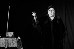 """18.09.2017 Szczecin """"Dzień św. Witkacego"""" w Domu Kultury 13 Muz Otwarcie wystawy oraz spektakl. fot.Robert Stachnik"""