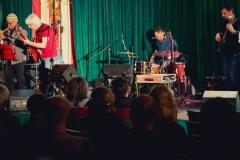 """16.04.2018 Szczecin 13 Muz Jazz Fana: Charlie Green & Krzysztof """"Puma"""" Piasecki.  Fot. Robert Stachnik"""