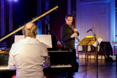 21.09.2020. Szczecin 13 Muz Jazz Fana - Maciej Sikała / Leszek Kułakowski  Fot. Robert Stachnik
