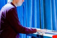 """14.09.2020. DK """"13 Muz"""". Poniedziałek Jazz Fana - Michał Sołtan Quartet. Organizator: Zachodniopomorskie Stowarzyszenie Jazzowe. Fot.: Robert Stachnik."""