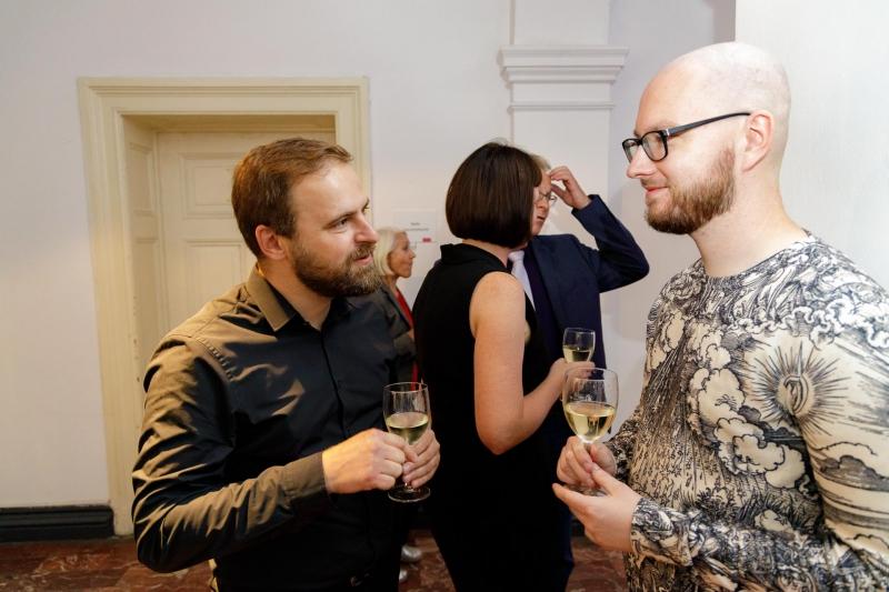 """06.09.2019 Szczecin 13 Muz Rozkład nie jest gwarantowany"""" - wernisaż w Galerii 1/2   Fot. Robert Stachnik"""