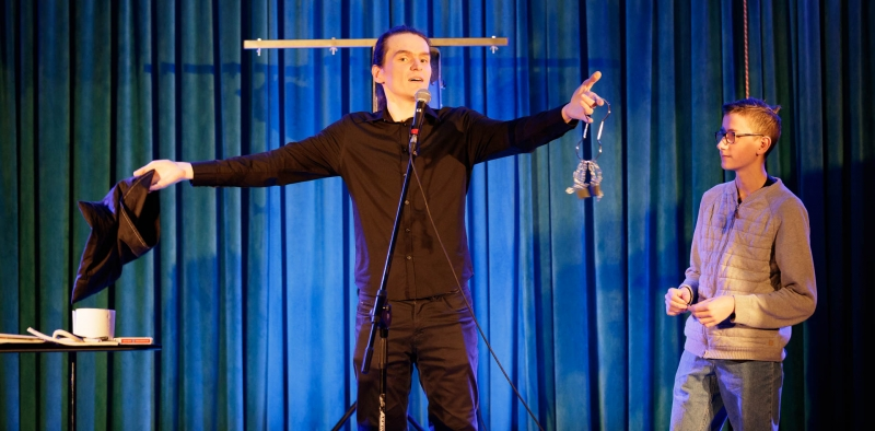 27.01.2019 Szczecin 13 Muz The One Magic Show  Fot. Robert Stachnik