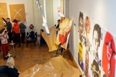 """03.03.2018  Szczecin 13 Muz  Wernisaż wystawy: """"Portret zwierciadłem osobowości"""" Fot. Robert Stachnik"""
