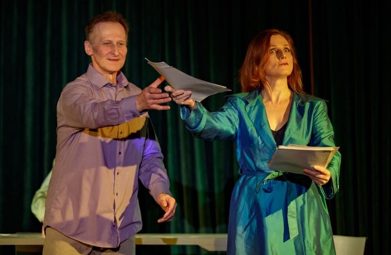 """09.02.2019 Szczecin 13 Muz """"Przemiana"""" - spektakl Grupy Teatralnej Osiem Rąk   Fot. Robert Stachnik"""