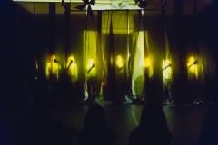 "22.09.2018 Szczecin 13 Muz Premiera nowego spektaklu Teatru Tańca Kiosk Ruchu""Kurs makijażu"".  Fot. Robert Stachnik"