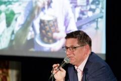 """05.10.2018 Szczecin 13 Muz """"Wyprawa do Kanion Colca"""", spotkanie z Romanem Czejarkiem.  Fot. Robert Stachnik"""